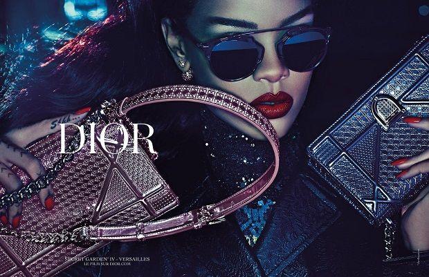 Rihanna é a nova garota propaganda da marca / Divulgação/Dior