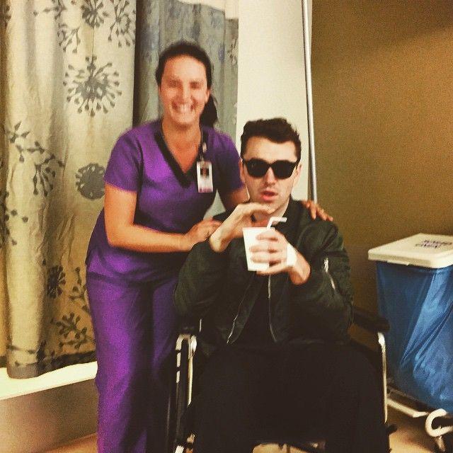Sam Smith posta foto após operação cirúrgica / Divulgação/Instagram