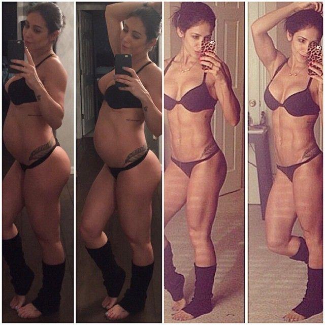 A musa fitness está grávida de 25 semanas / Divulgação/Instagram