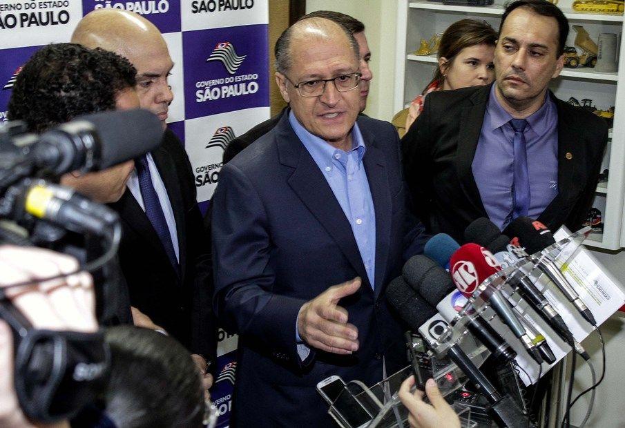 O governador Geraldo Alckmin criticou greves / Alessandro Valle/ABCDigipress/Folhapress