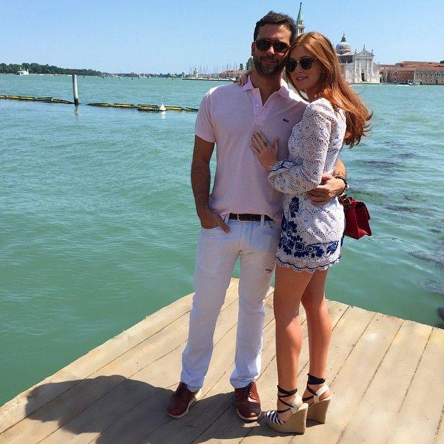 Marina Ruy Barbosa posa ao lado do namorado em Veneza / Divulgação/Instagram