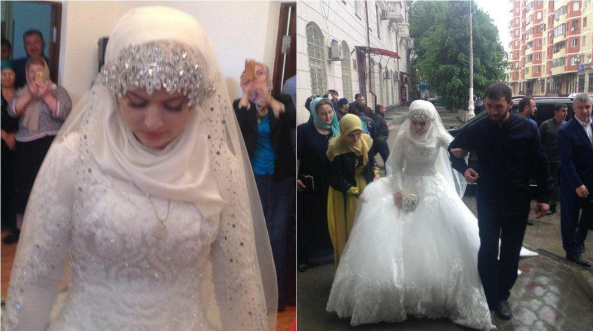Adolescente é forçada a se casar na Chechênia