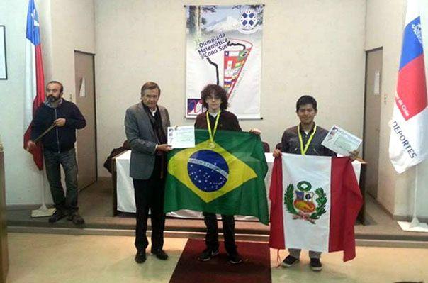 Pedro Henrique Sacramento de Oliveira, de Vinhedo, São Paulo, conquistou a medalha de ouro / Divulgação / OBM