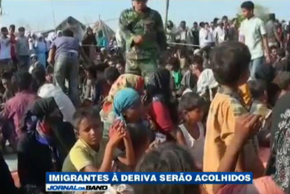 Refugiados de Myanmar / Reprodução