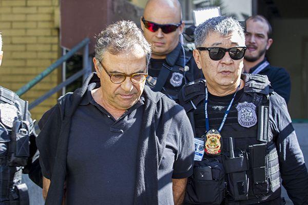 Milton Pascowitch está detido na carceragem da PF em Curitiba / Paulo Lisboa / Brazil Photo Press / Folhapress