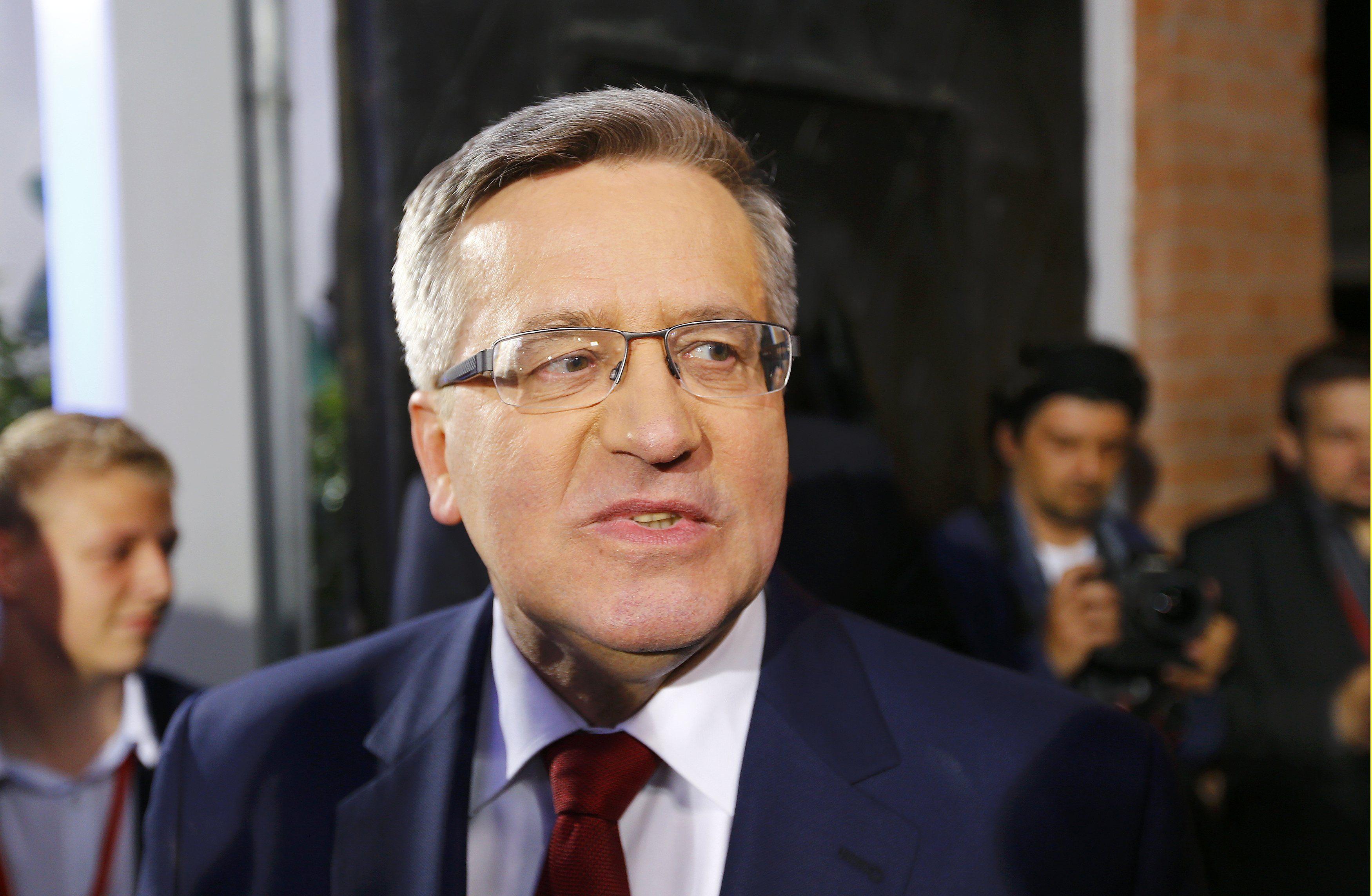 Presidente admitiu derrota após divulgação de pesquisas de boca de urna / Pawel Kopczynski
