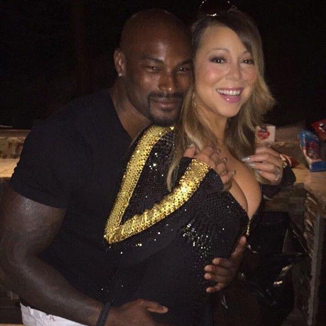 Mariah Carey ganha abraço íntimo de Tyson Beckford / Divulgação/Instagram