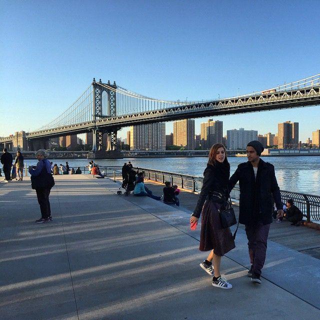 Sophia Abrahão e Sergio Malheiros passeando em Nova York / Divulgação/Instagram