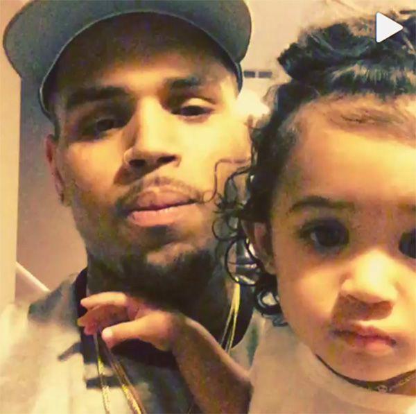Chris Brown estaria devendo um mês de pensão para a filha / Divulgação/Instagram