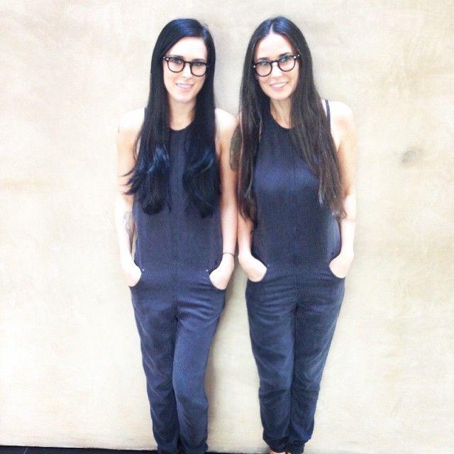 Rumer Willis e Demi Moore mostram como estão parecidas / Divulgação/Instagram