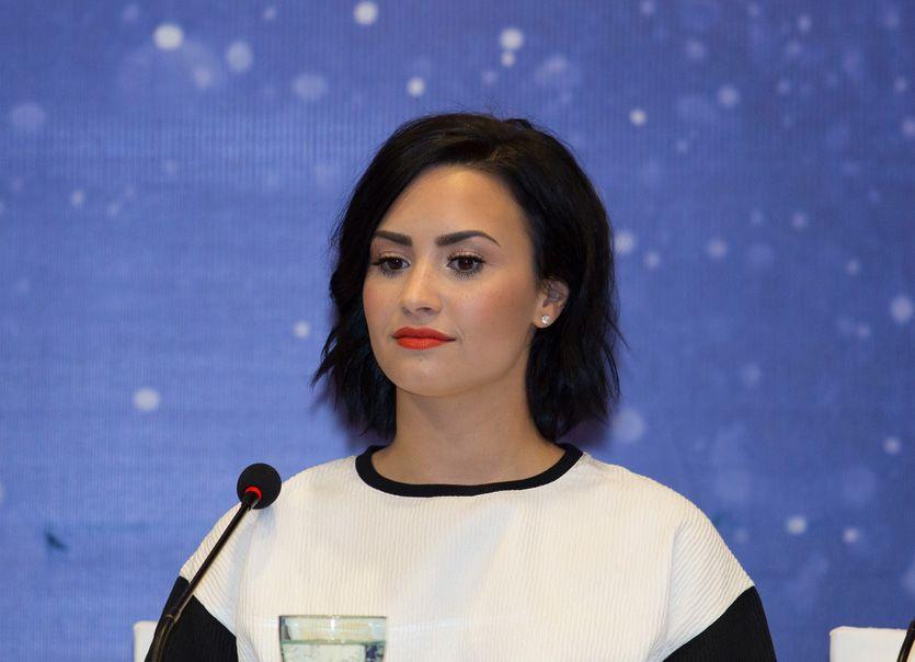 Demi Lovato quer ajudar pacientes com transtorno bipolar /  Son Hoang Tran/Shutterstock.com