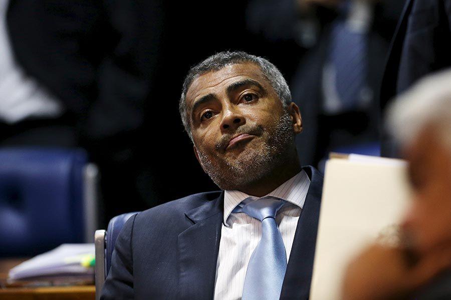 Romário voltou a atacar o presidente da CBF - Adriano Machado/Reuters