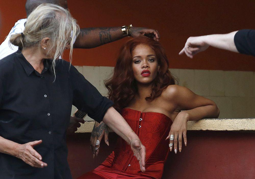 Rihanna desembarca em Cuba para gravar clipe / Stringer/Reuters