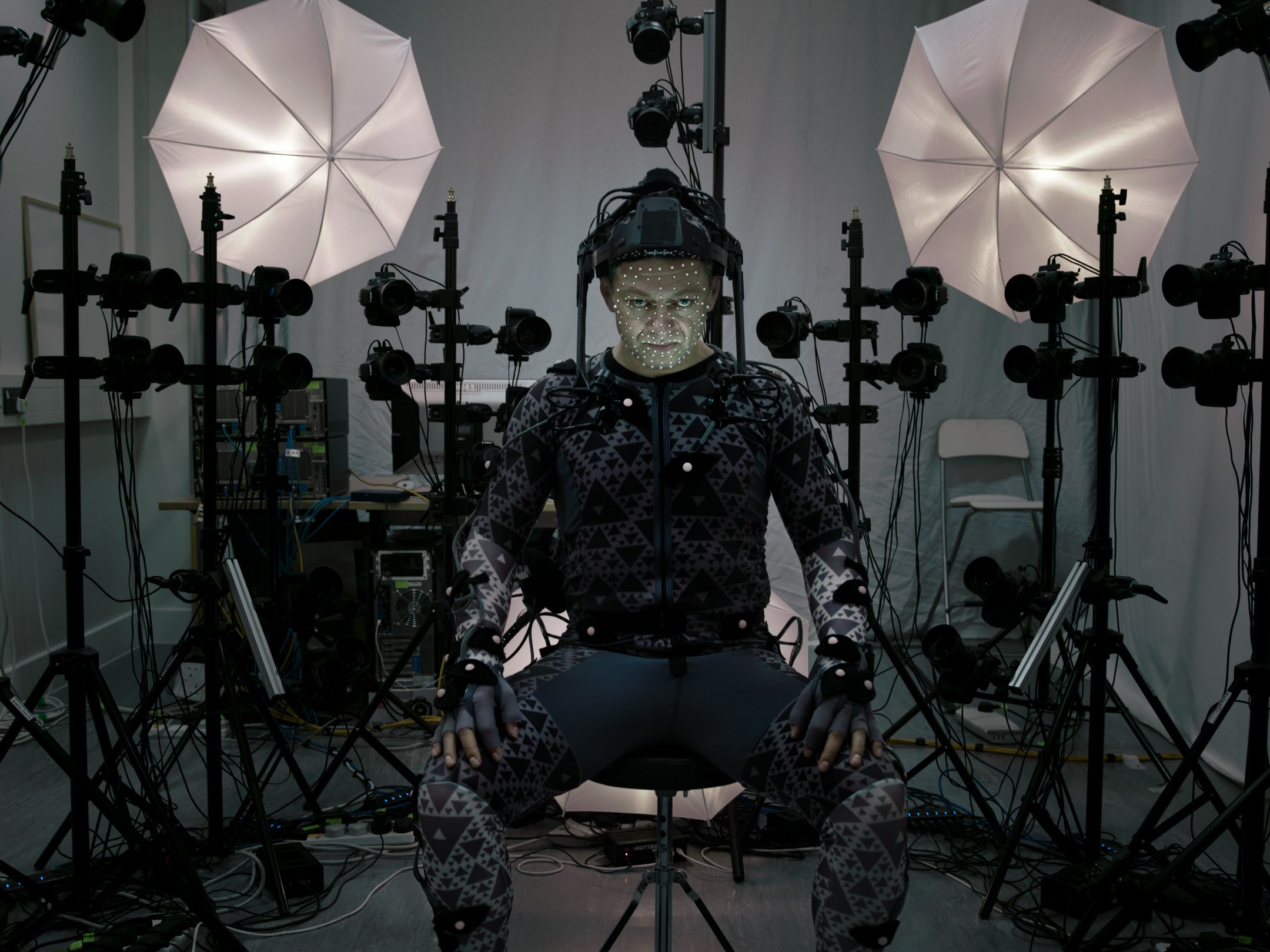 Andy Serkis incorpora seu personagem em Star Wars / Annie Leibovitz/Vanity Fair