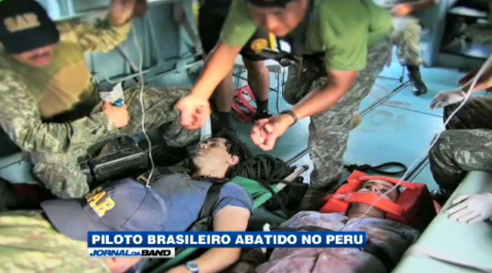 Brasileiro foi abatido no Peru / Reprodução