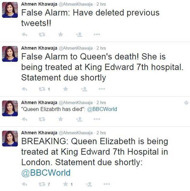Morte Rainha Elizabeth