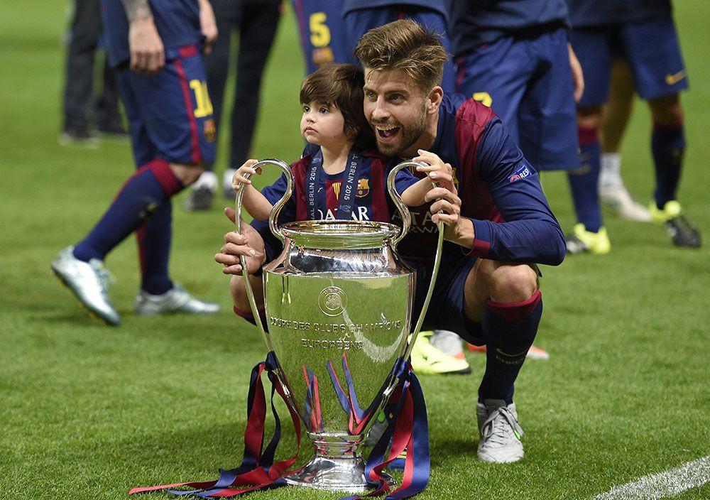 Filho de Shakira e Gerard Piqué rouba a cena em estádio na Alemanha