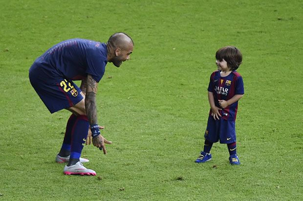 Milan e Daniel Alves