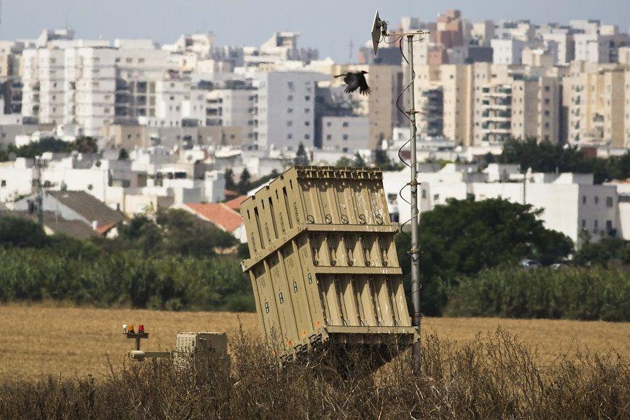 Bateria antimíssil colocada próxima à cidade de Ashkelon, Israel / Amir Cohen/Reuters