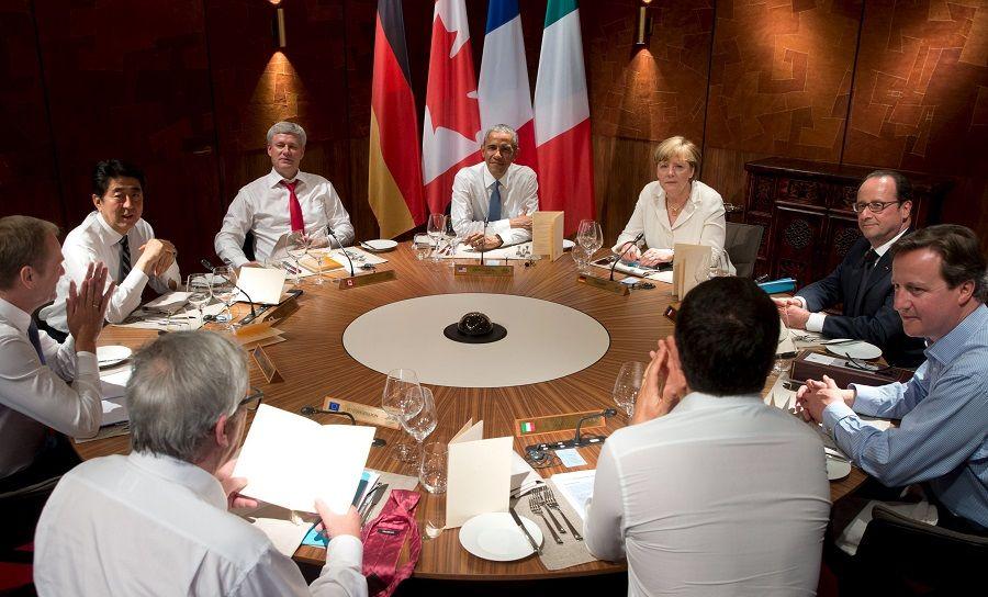 Líderes do G7 fazem um jantar à trabalho no sul da Alemanha / Stephen Crowley/Reuters