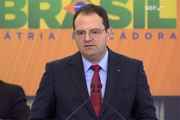 Nelson Barbosa durante o anúncio do plano de concessões / Reprodução