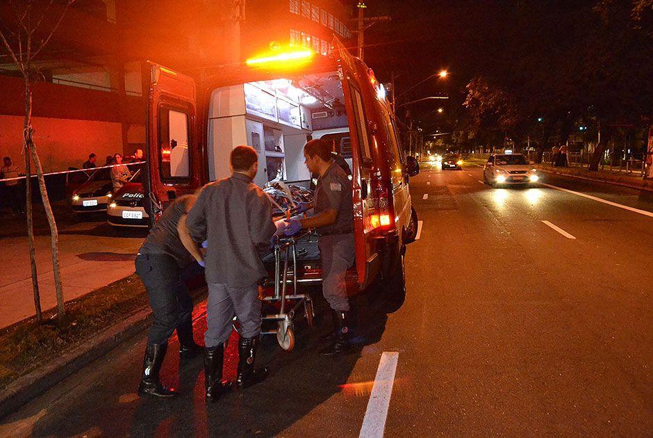 Estado de saúde dos bandidos não foi informado até o momento / Edu Silva/Futura Press/Folhapress