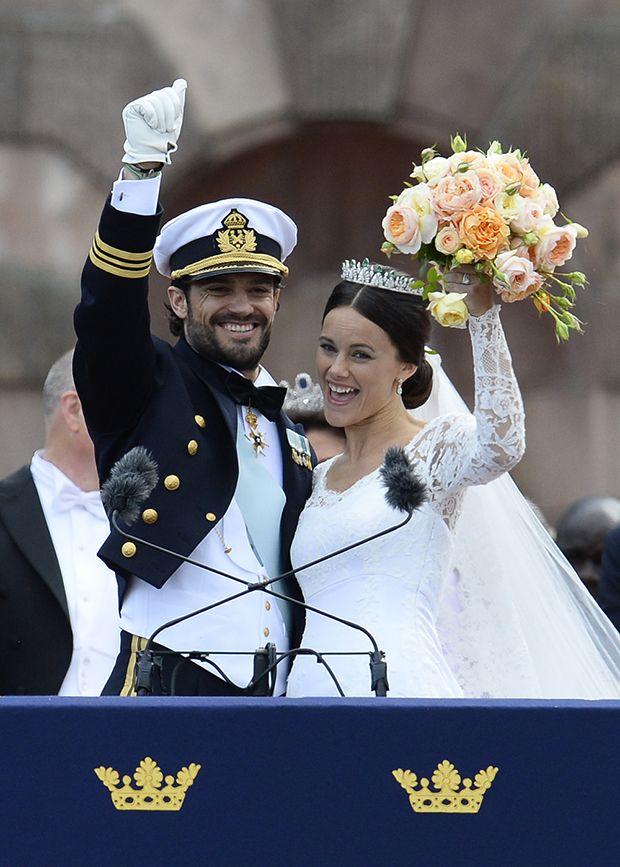 Casamento Carl Philip e Sofía Hellqvist