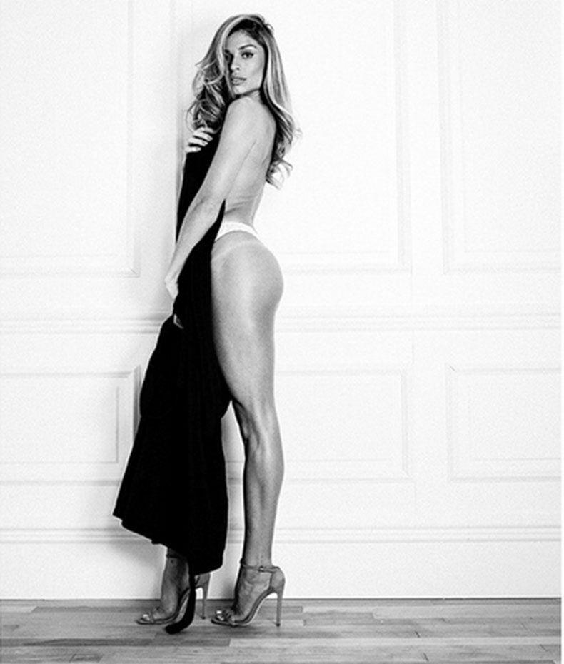 Grazi posa para campanha de lingerie / Divulgação/Instagram