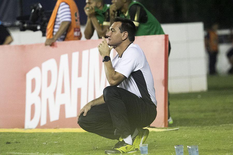 Doriva não aguentou a quinta derrota seguida no Brasileirão -  Paulo Fernandes/Vasco.com.br