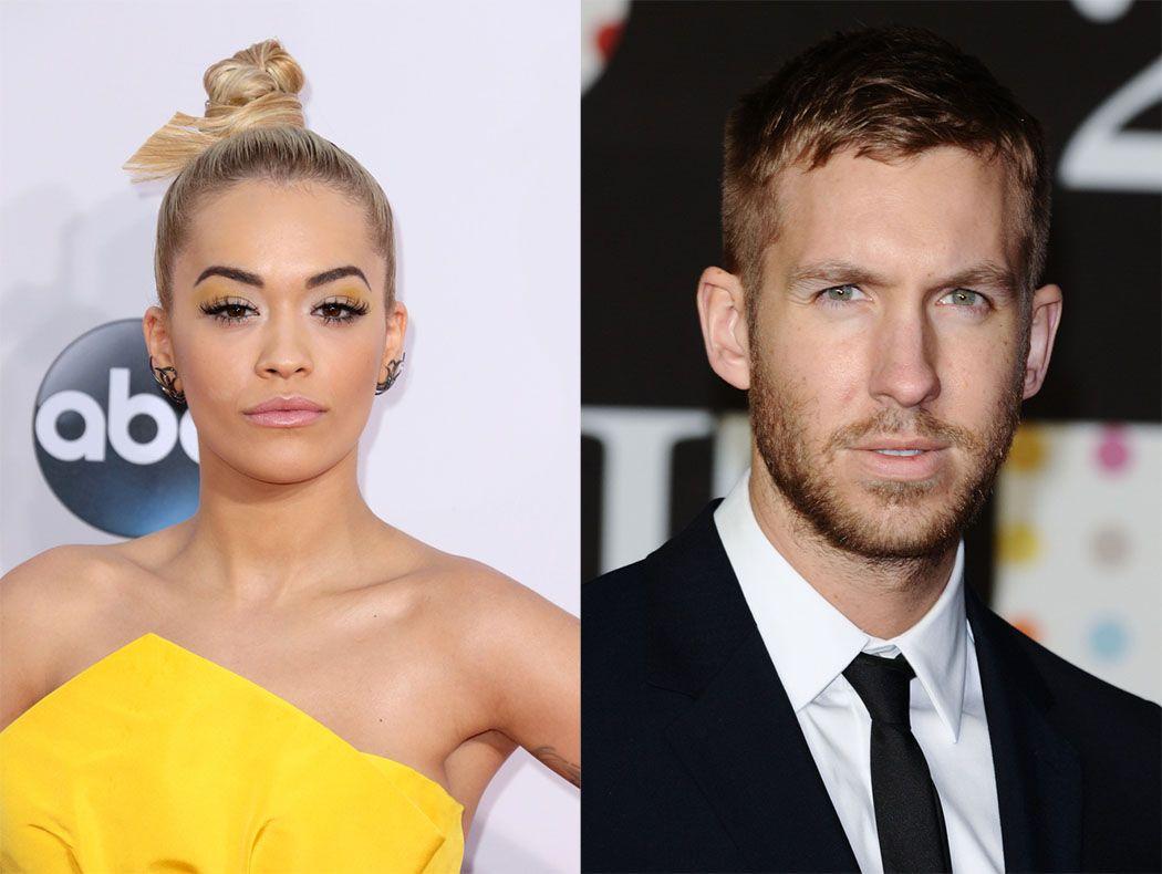 Rita Ora e Calvin Harris namoraram por 1 ano  / Helga Esteb e Featureflash/Shutterstock.com