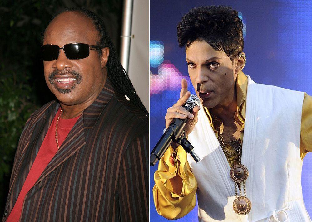 Stevie Wonder e Prince foram contratados por Obama / S_bukley/Shutterstock.com e Bertrand Guay/AFP