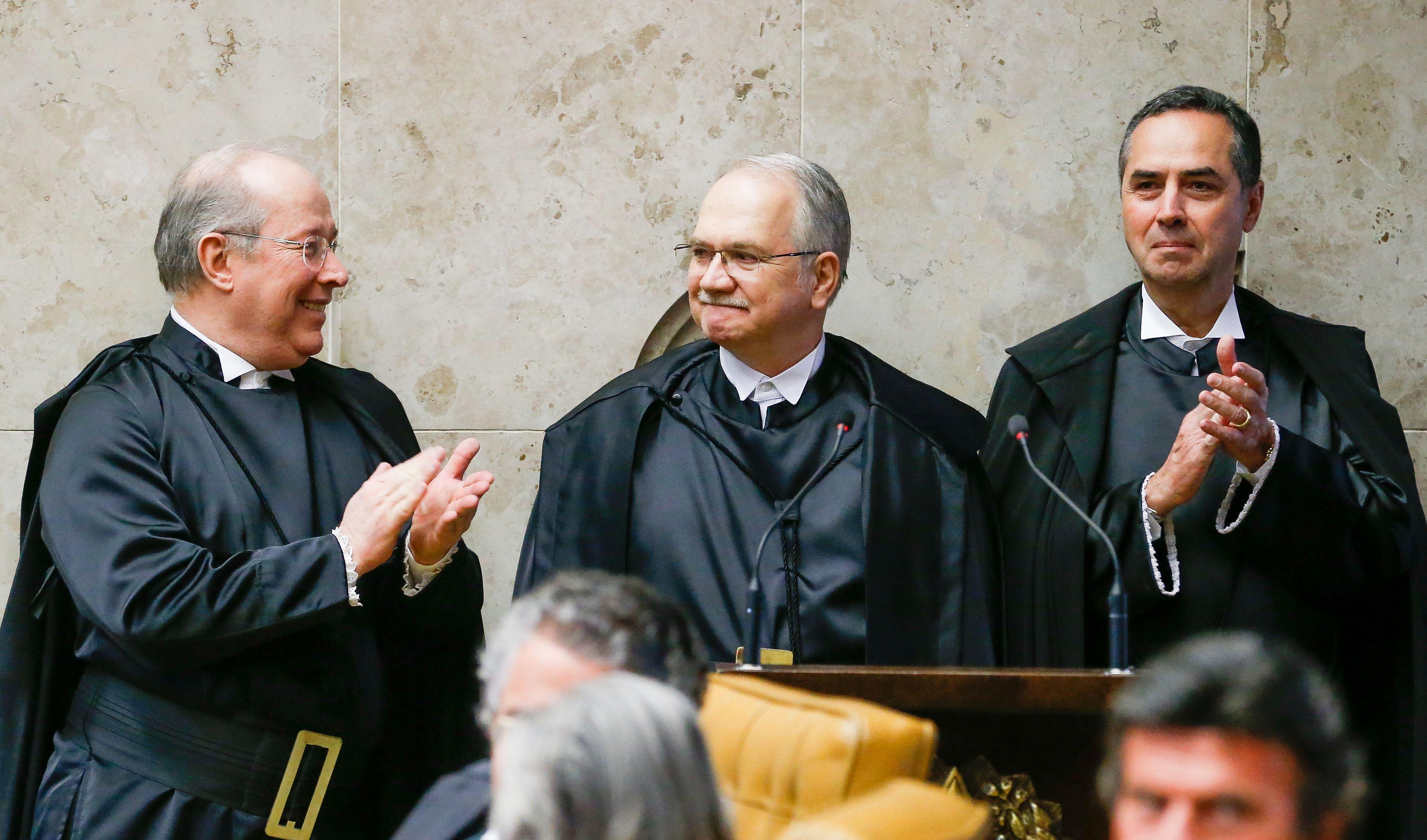 Cerimônia de posse do advogado e professor Luiz Edson Fachin / Pedro Ladeira/Folhapress
