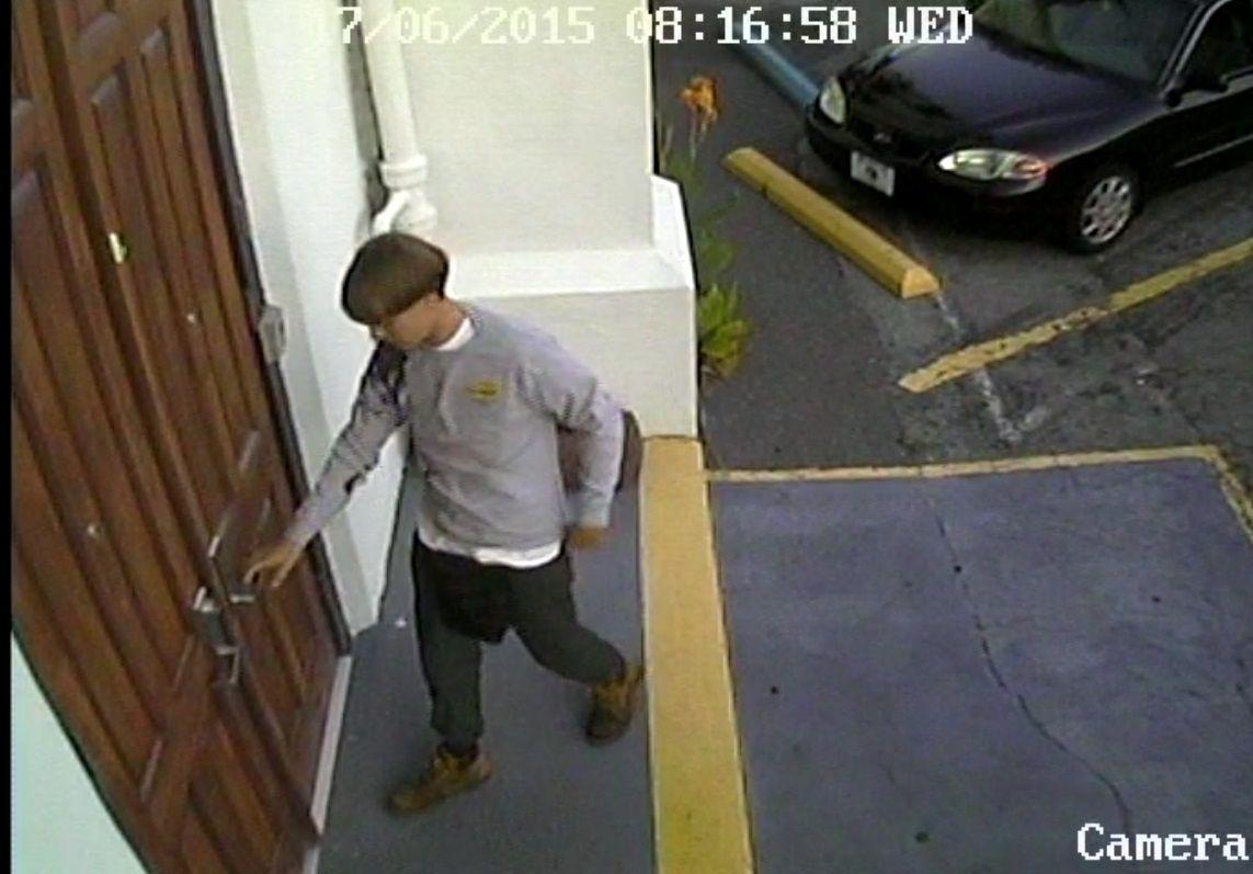 Suspeito de matar nove em igreja de Charleston, nos EUA / Charleston Police Department/Reuters
