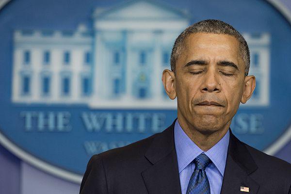Não foi a primeira vez que Obama fez campanha contra a National Rifle Association / Saul Loeb / AFP