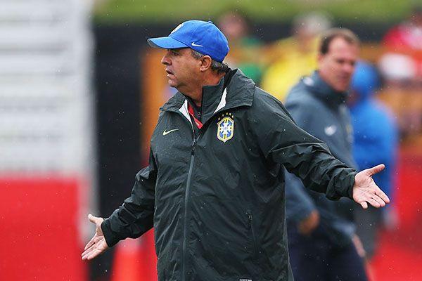 Vadão diz que Brasil jogou bem nas oitavas - ELSA / GETTY IMAGES NORTH AMERICA / AFP