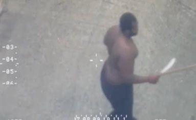 Polícia persegue lutador e consegue detê-lo / REUTERS