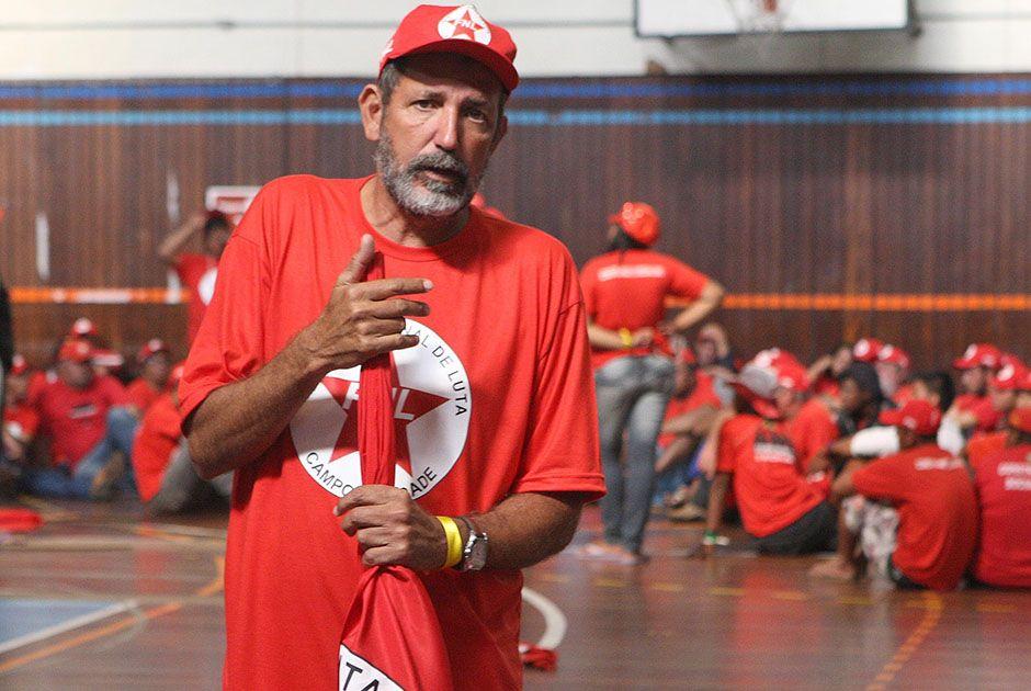 Ex-líder do MST foi acusado de usar trabalhadores rurais como massa de manobra /  Luiz Carlos Murauskas/Folhapress/Arquivo