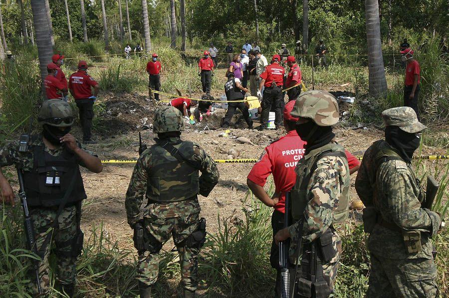 Corpos encontrados em Acapulco podem ser de sequestrados em setembro
