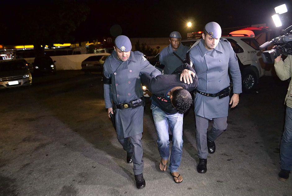 Autor de uma chacina, ele havia fugido da cadeia na cidade de Sobral / Edu Silva/Futura Press/Folhapress