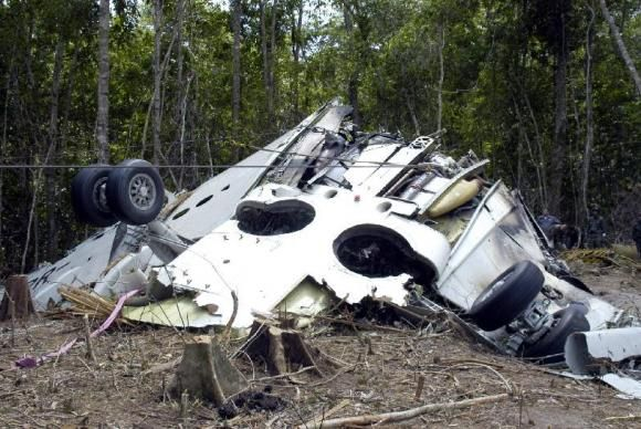 Boieng da Gol cai na Floresta Amazônica / Divulgação/Força Aérea Brasileira