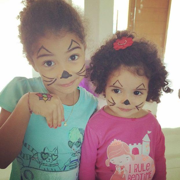 As filhas de Samara Felippo viraram