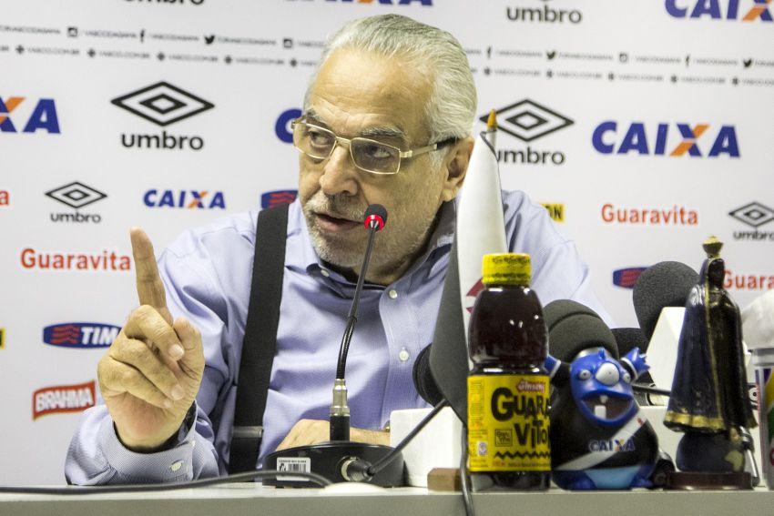 Eurico disse que vitória foi o segundo título no ano - Paulo Fernandes/Vasco.com.br