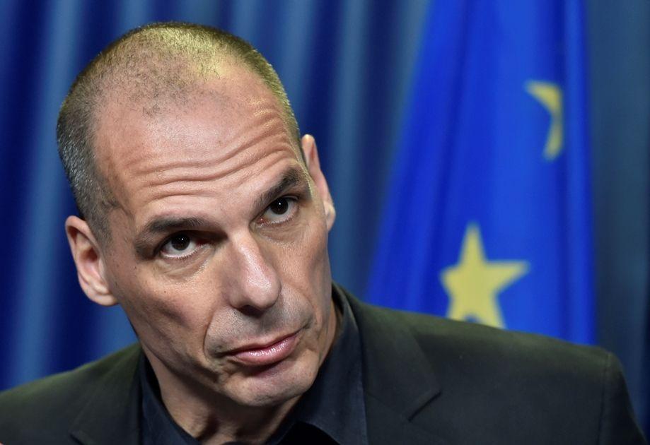 Ao ser questionado pela imprensa, Varoufakis respondeu de maneira seca: Não / JOHN THYS / AFP