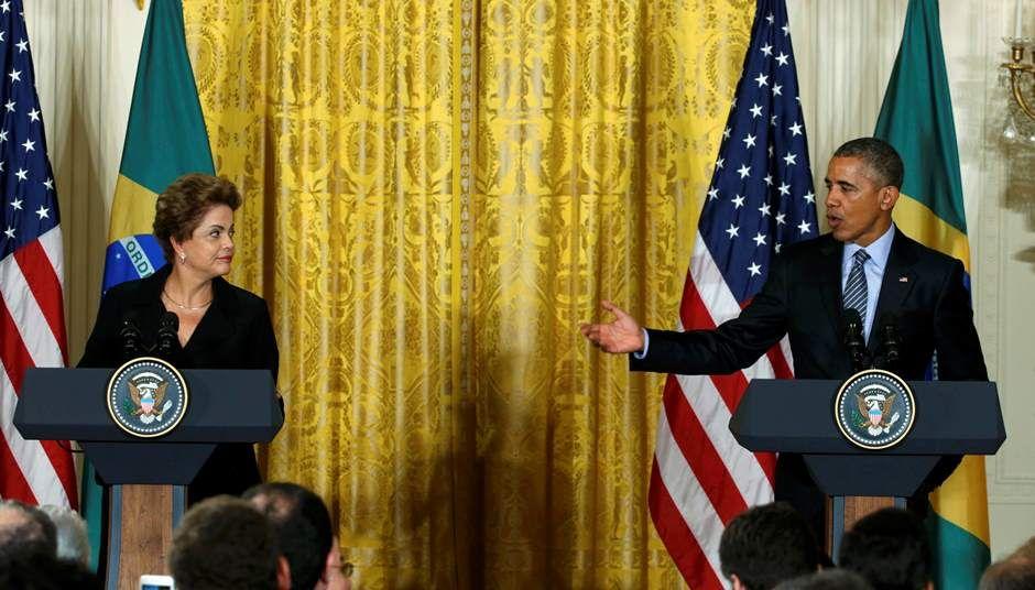 Dilma diz que desafio do país é dobrar comércio com EUA / REUTERS/Kevin Lamarque