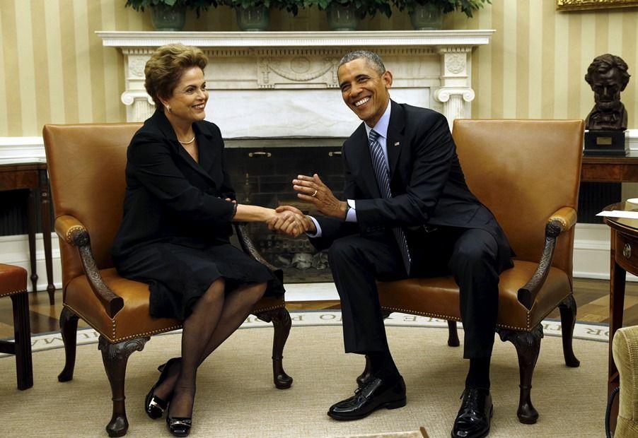Dilma diz acreditar que EUA não estão espionando Brasil ou aliados / REUTERS/Kevin Lamarque