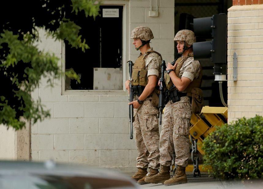 Polícia cerca Marinha em Washington / REUTERS/Jonathan Ernst