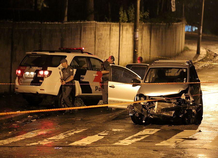 Suspeito morre em perseguição policial / Foto: Fernando Neves/ Brazil Photo Press/Folhapress