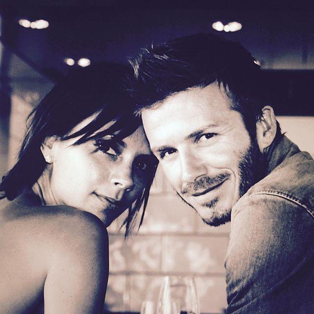 Victoria e David Beckham festejam 16 anos de casados