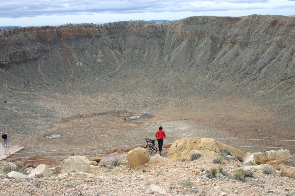 Cratera formada por impacto de asteroide no Cânion do Diabo, no Arizona / Kevin Walsh/Flickr
