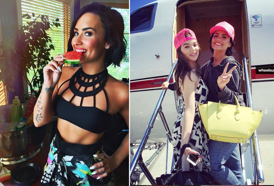 Demi Lovato divulga seu novo álbum / Divulgação/Instagram